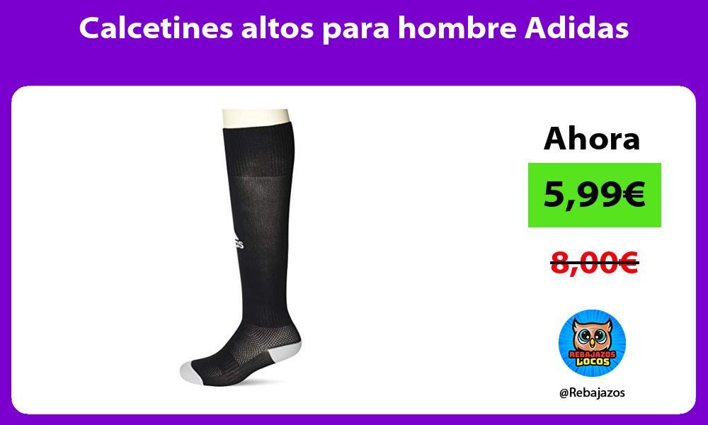 Calcetines altos para hombre Adidas