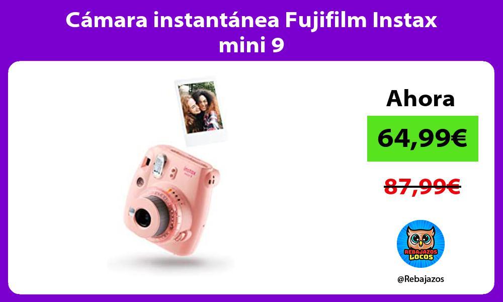 Camara instantanea Fujifilm Instax mini 9