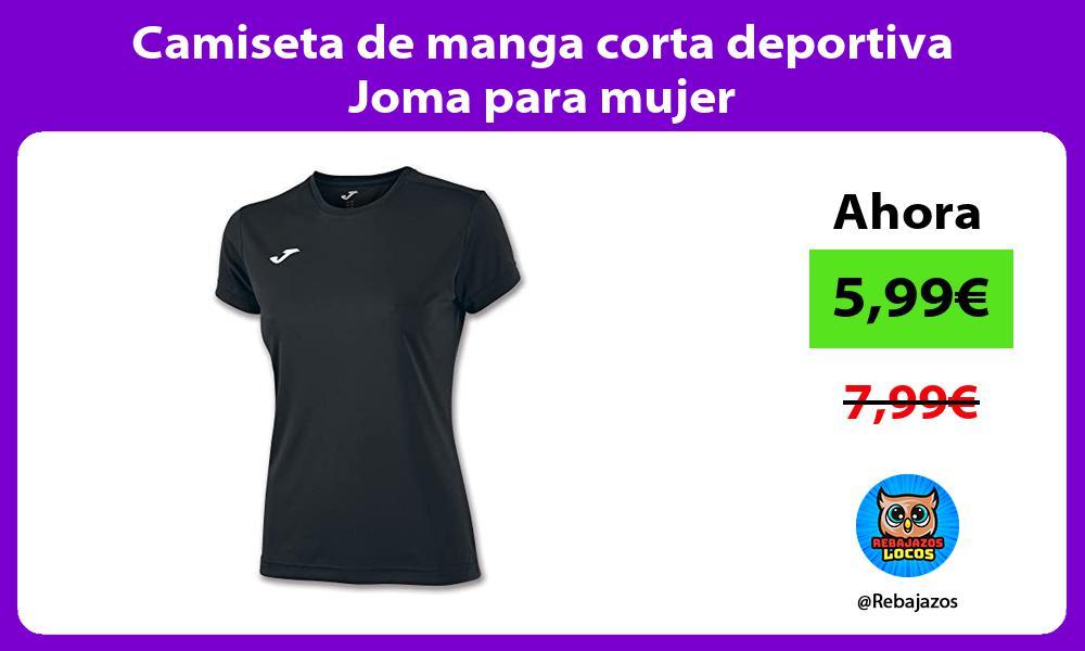 Camiseta de manga corta deportiva Joma para mujer