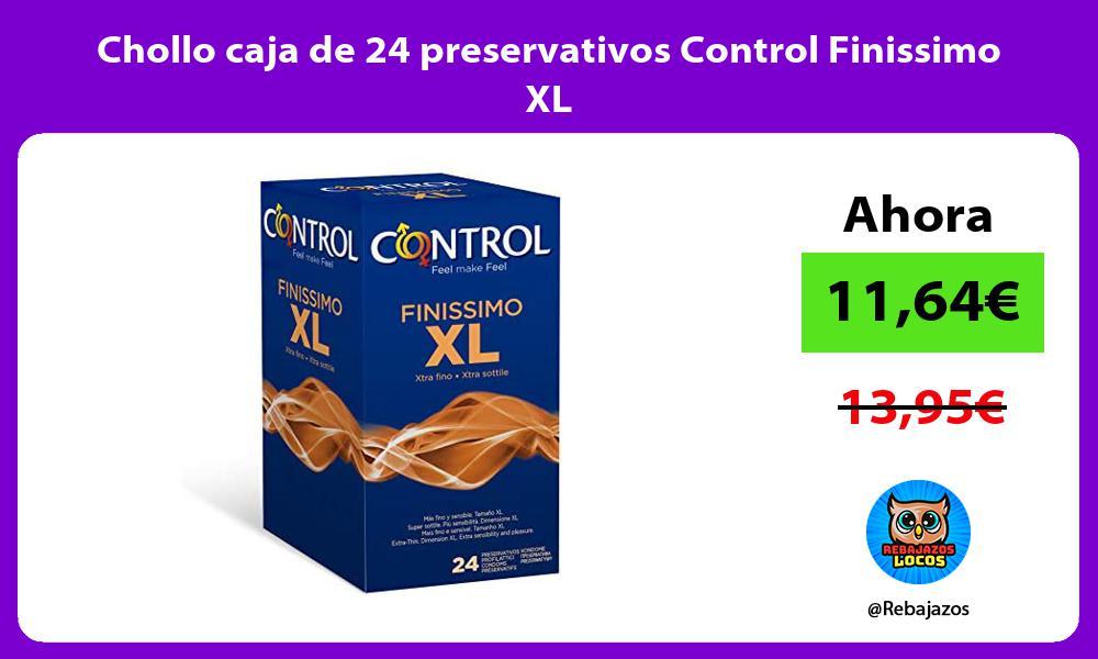 Chollo caja de 24 preservativos Control Finissimo XL