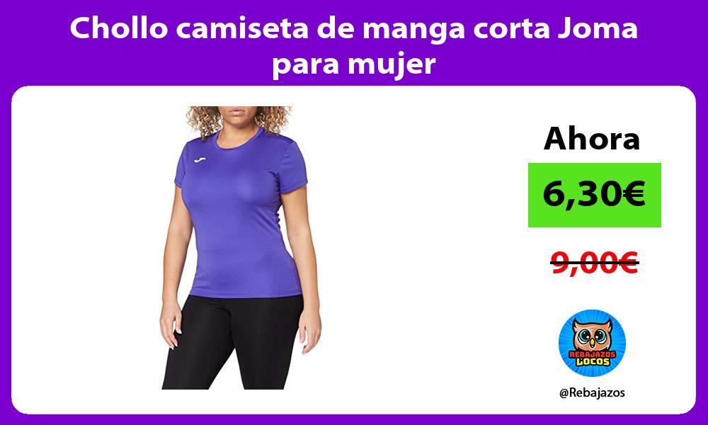 Chollo camiseta de manga corta Joma para mujer