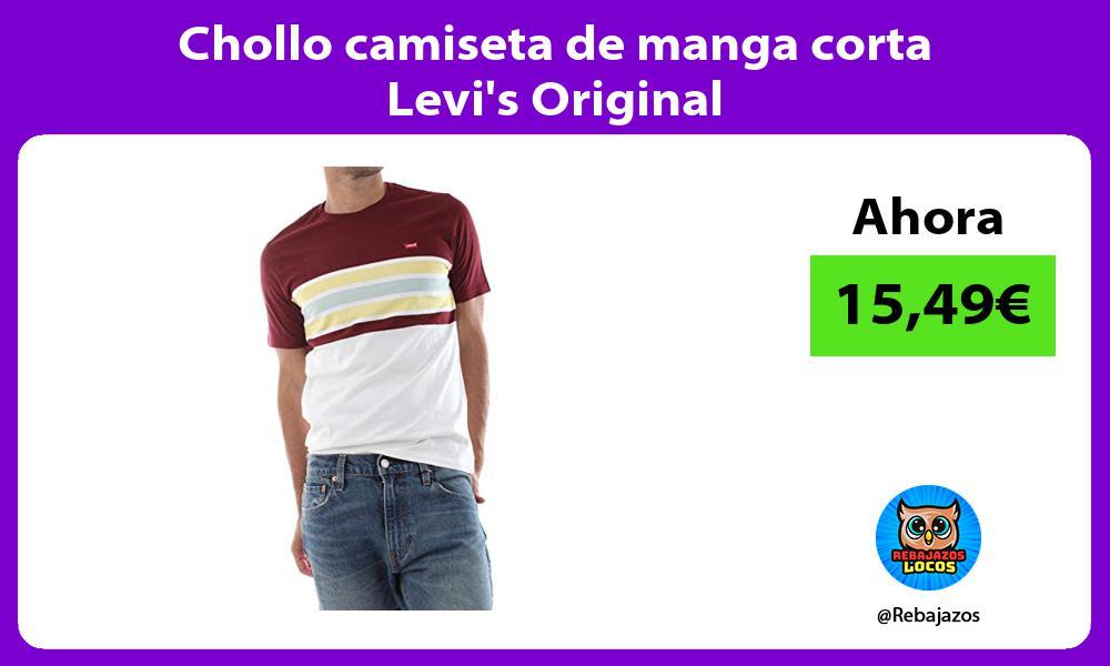 Chollo camiseta de manga corta Levis Original