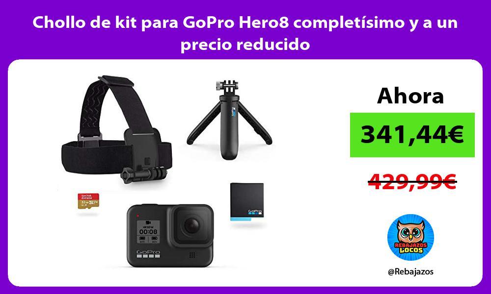 Chollo de kit para GoPro Hero8 completisimo y a un precio reducido