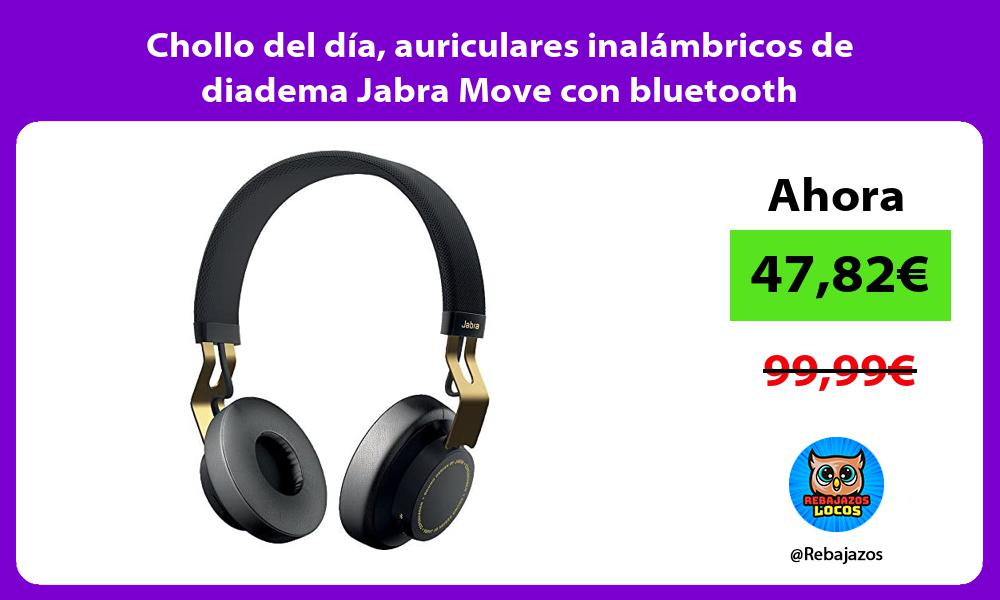 Chollo del dia auriculares inalambricos de diadema Jabra Move con bluetooth