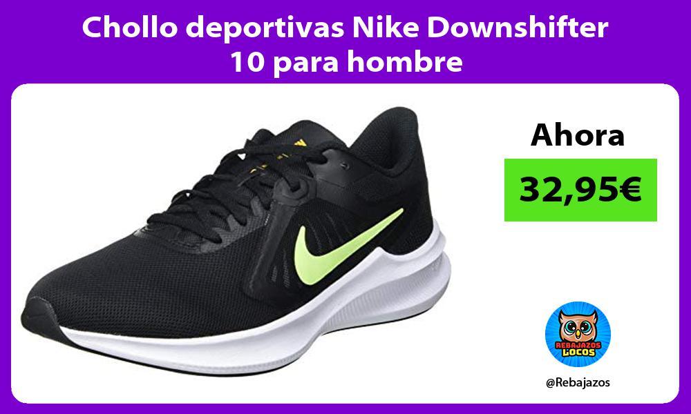 Chollo deportivas Nike Downshifter 10 para hombre