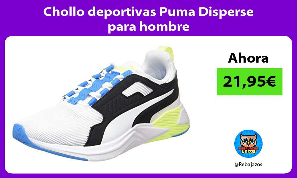 Chollo deportivas Puma Disperse para hombre