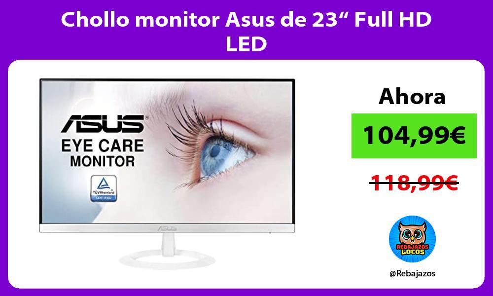 Chollo monitor Asus de 23 Full HD LED