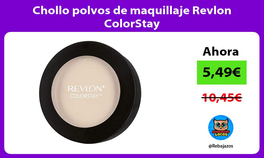 Chollo polvos de maquillaje Revlon ColorStay