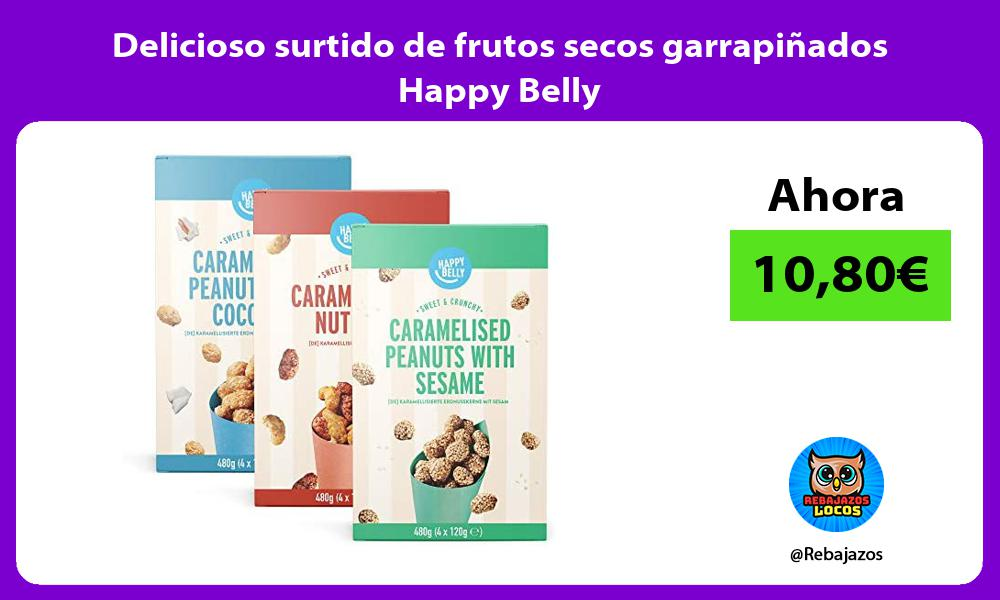 Delicioso surtido de frutos secos garrapinados Happy Belly