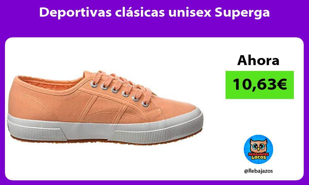 Deportivas clasicas unisex Superga