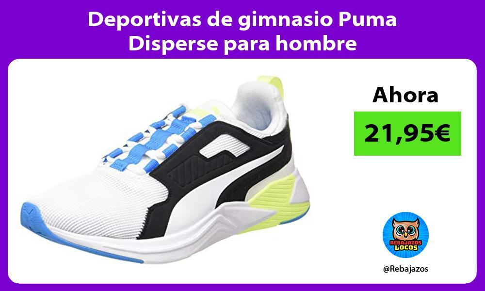 Deportivas de gimnasio Puma Disperse para hombre