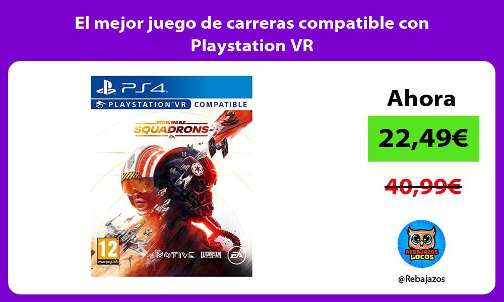El mejor juego de carreras compatible con Playstation VR