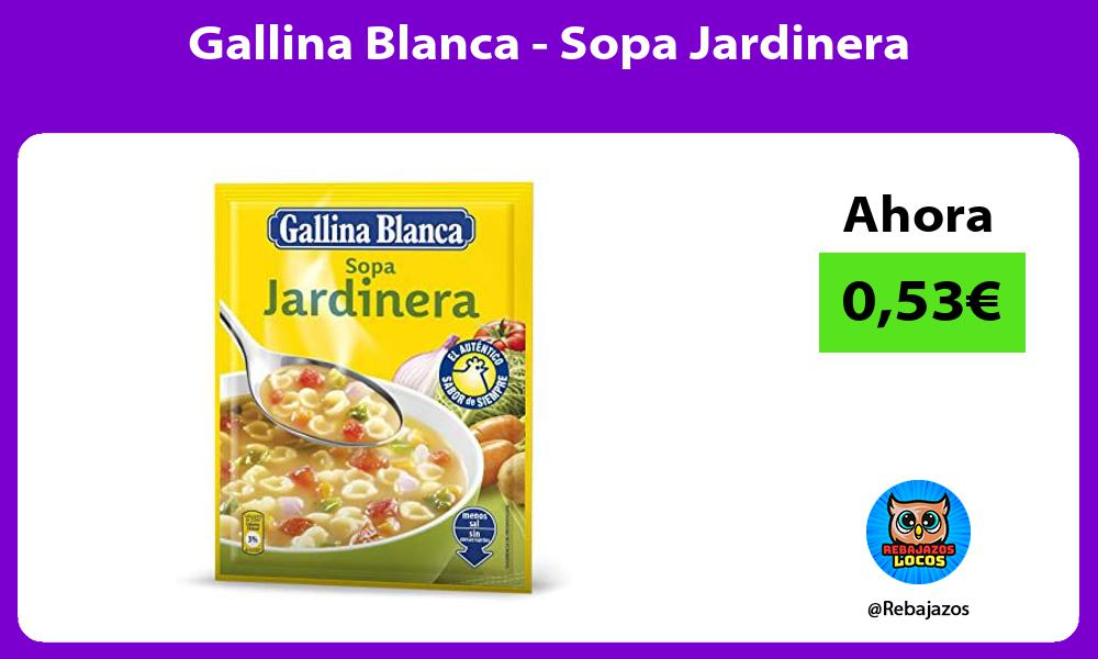 Gallina Blanca Sopa Jardinera