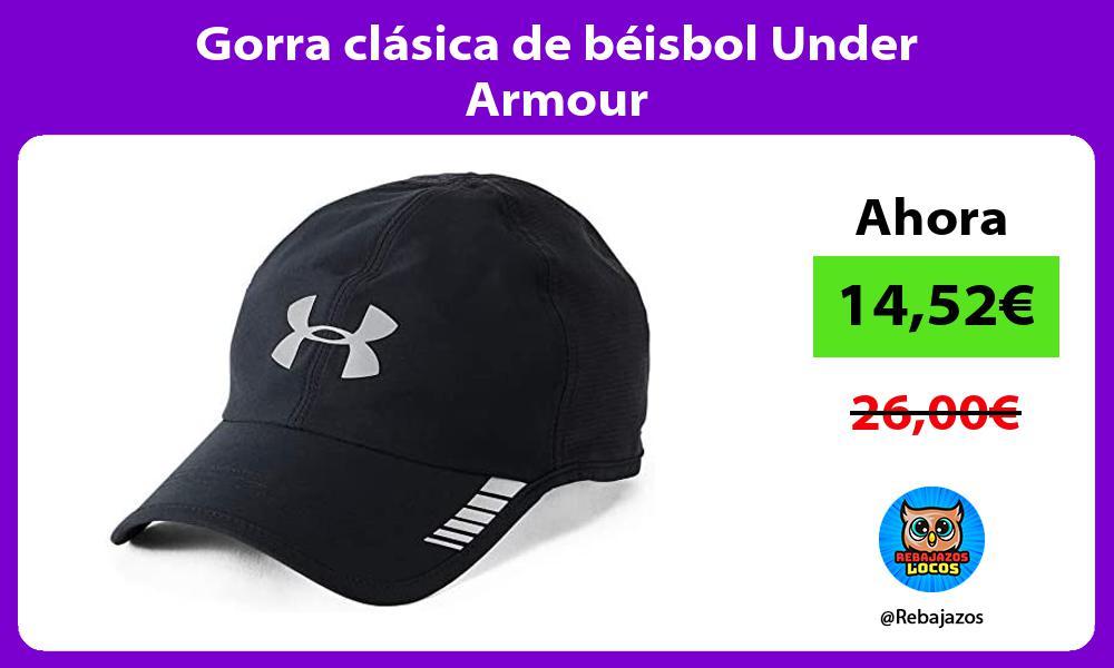 Gorra clasica de beisbol Under Armour