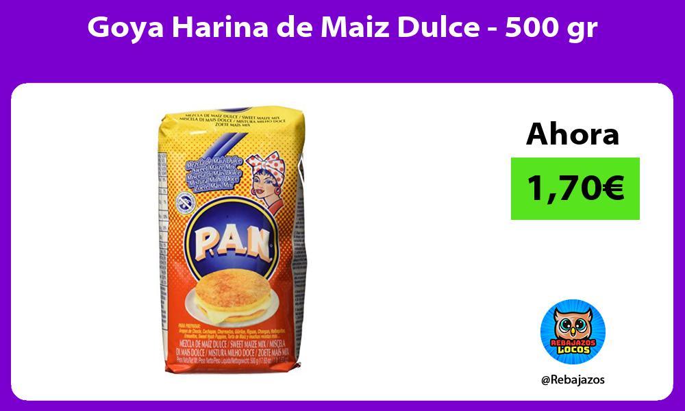 Goya Harina de Maiz Dulce 500 gr