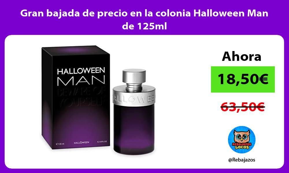 Gran bajada de precio en la colonia Halloween Man de 125ml