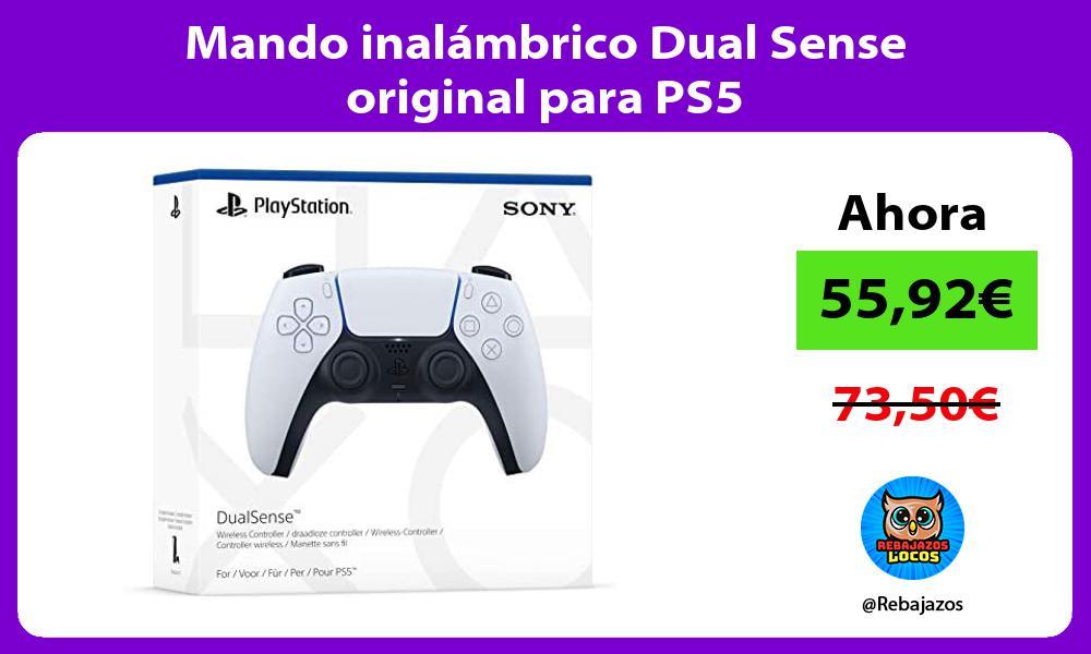 Mando inalambrico Dual Sense original para PS5