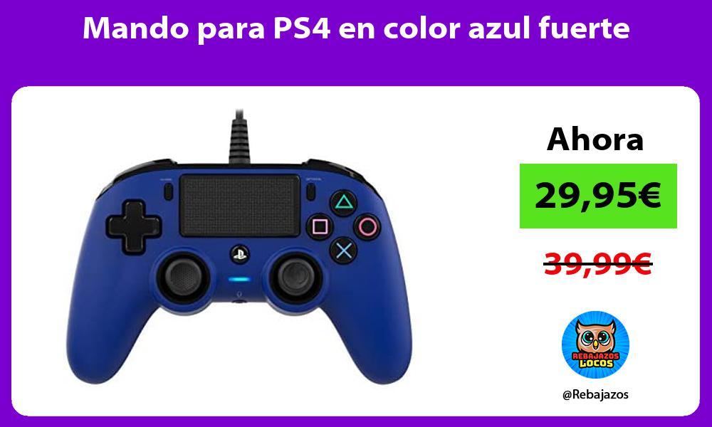 Mando para PS4 en color azul fuerte