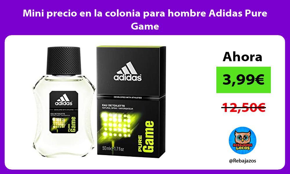 Mini precio en la colonia para hombre Adidas Pure Game
