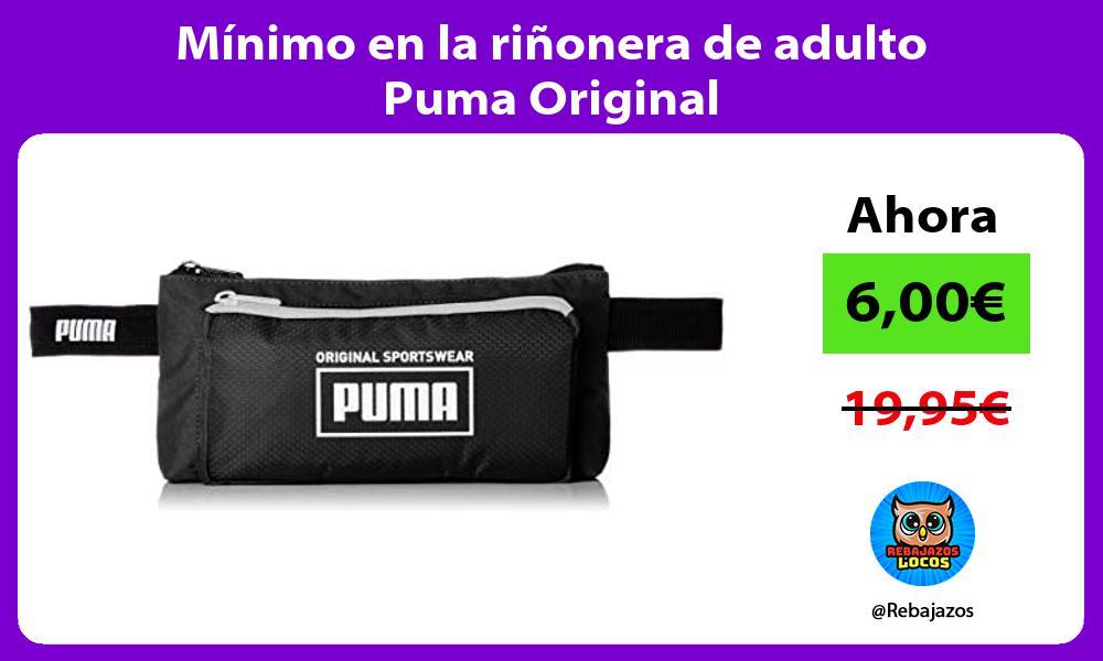 Minimo en la rinonera de adulto Puma Original