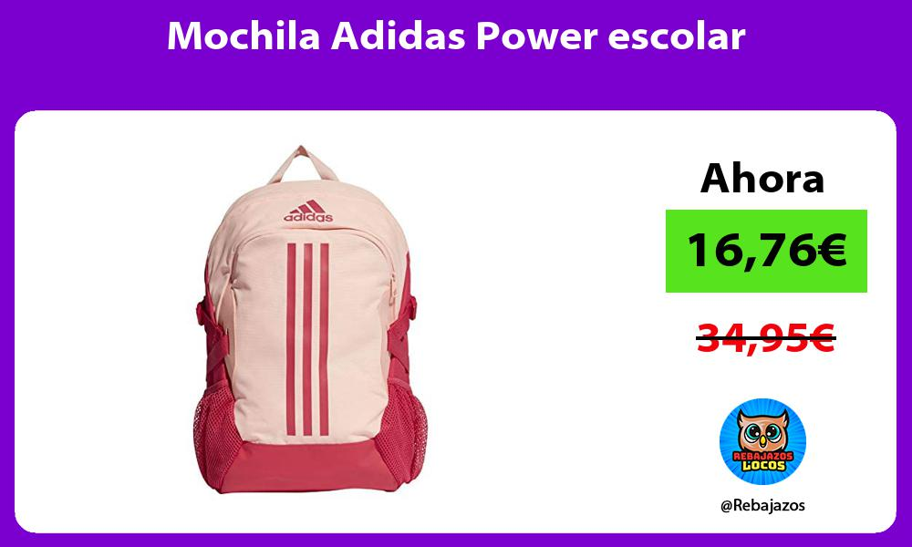 Mochila Adidas Power escolar