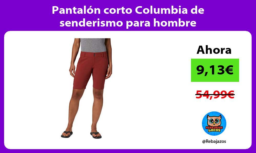 Pantalon corto Columbia de senderismo para hombre