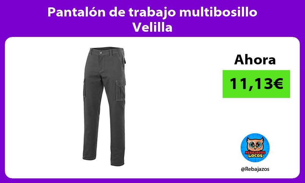 Pantalon de trabajo multibosillo Velilla