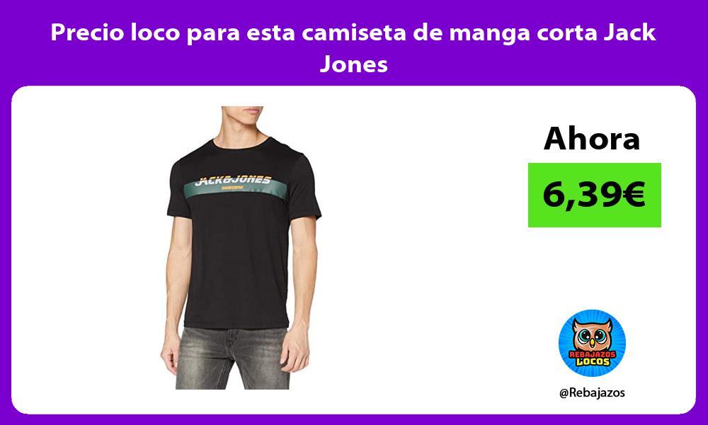 Precio loco para esta camiseta de manga corta Jack Jones