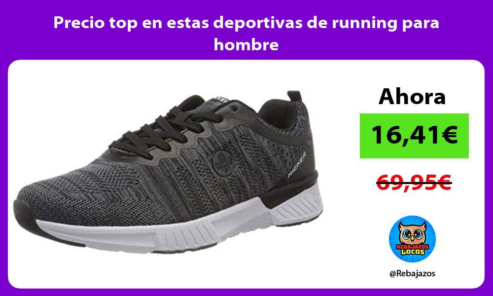 Precio top en estas deportivas de running para hombre