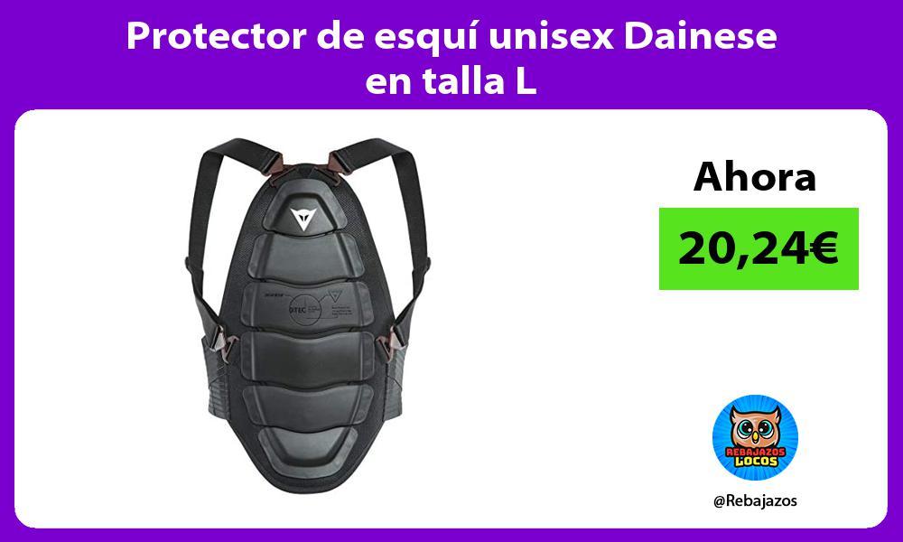 Protector de esqui unisex Dainese en talla L