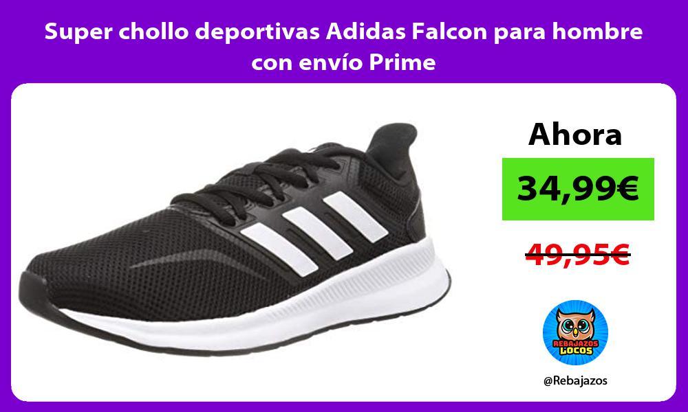 Super chollo deportivas Adidas Falcon para hombre con envio Prime