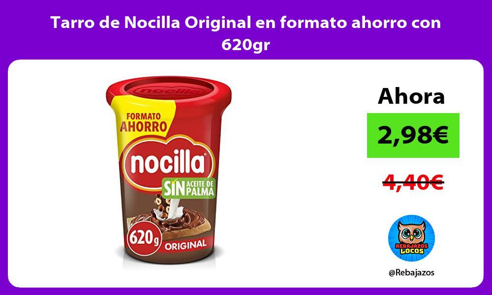 Tarro de Nocilla Original en formato ahorro con 620gr