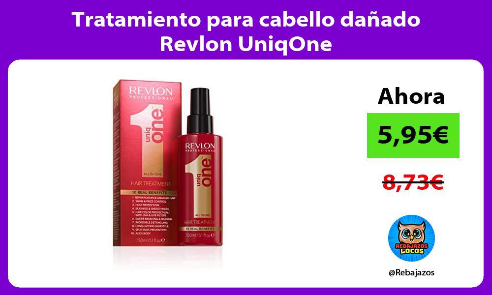 Tratamiento para cabello danado Revlon UniqOne