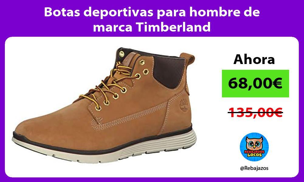 Botas deportivas para hombre de marca Timberland