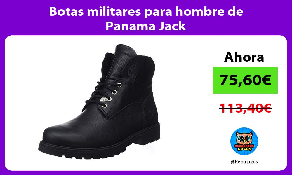 Botas militares para hombre de Panama Jack