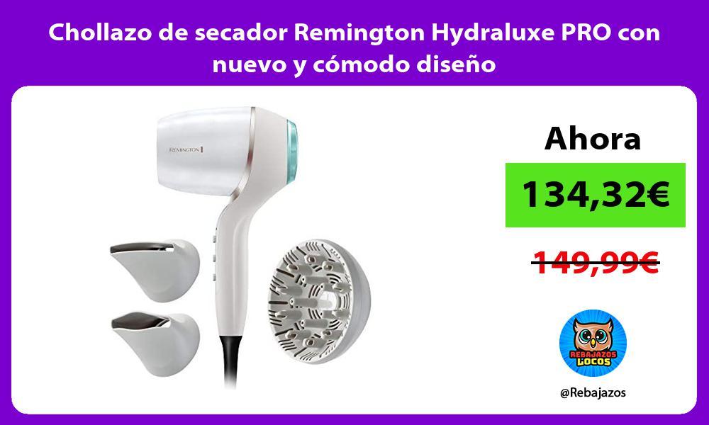 Chollazo de secador Remington Hydraluxe PRO con nuevo y comodo diseno