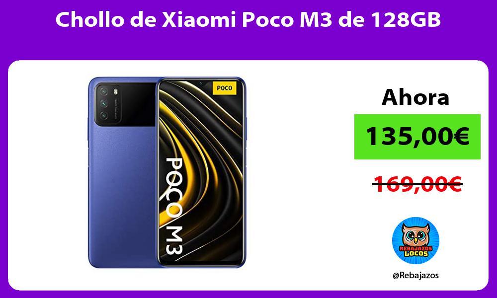 Chollo de Xiaomi Poco M3 de 128GB