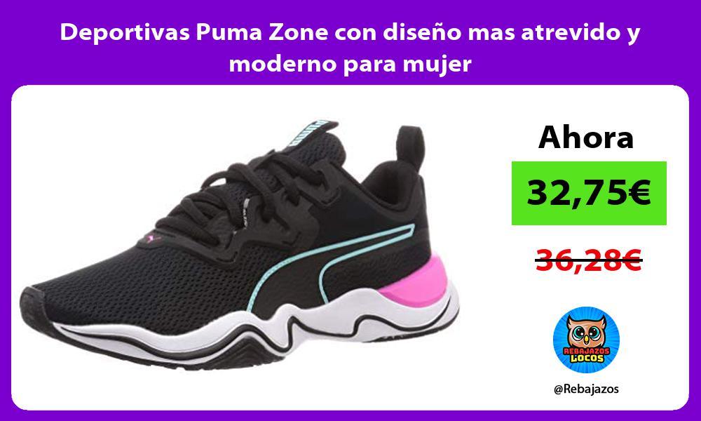 Deportivas Puma Zone con diseno mas atrevido y moderno para mujer