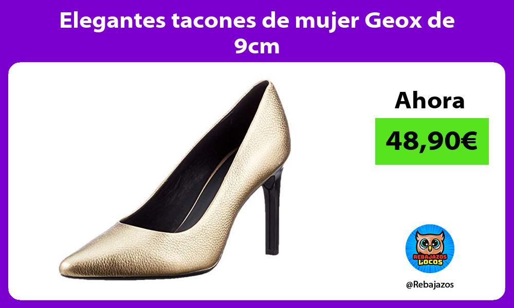 Elegantes tacones de mujer Geox de 9cm