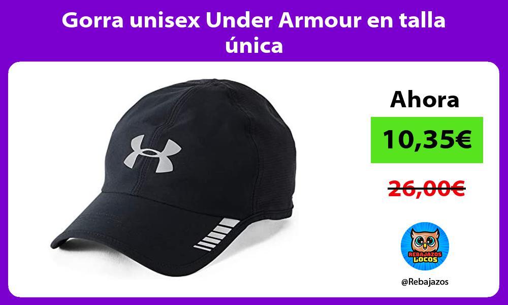 Gorra unisex Under Armour en talla unica