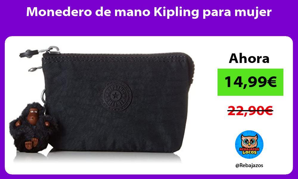 Monedero de mano Kipling para mujer