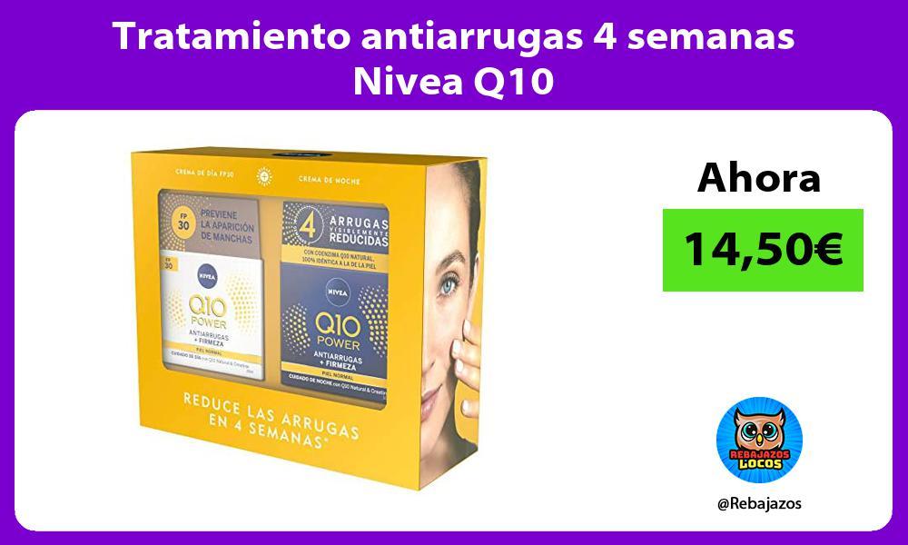 Tratamiento antiarrugas 4 semanas Nivea Q10