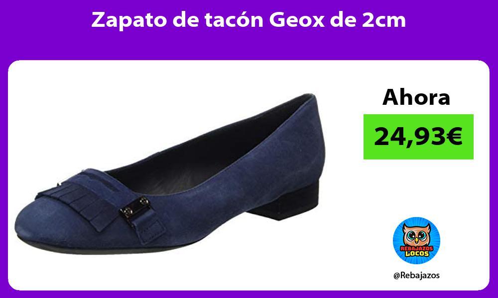 Zapato de tacon Geox de 2cm