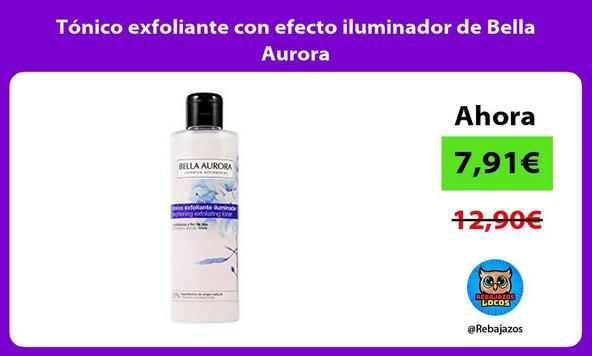 Tonico exfoliante con efecto iluminador de Bella Aurora
