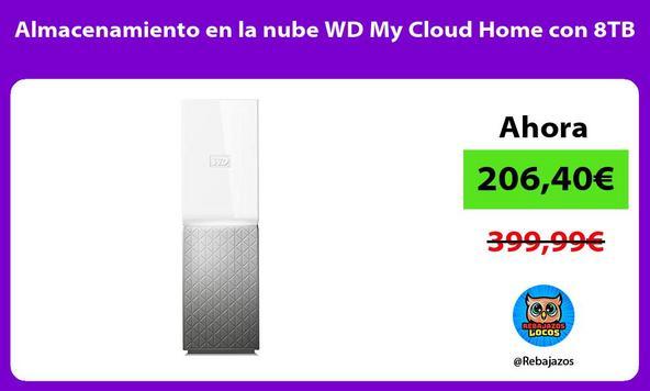 Almacenamiento en la nube WD My Cloud Home con 8TB