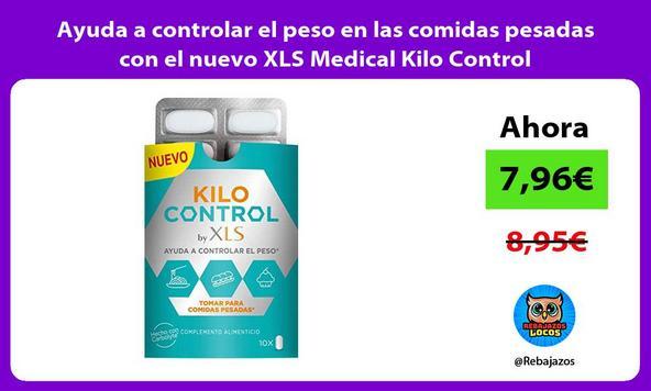 Ayuda a controlar el peso en las comidas pesadas con el nuevo XLS Medical Kilo Control