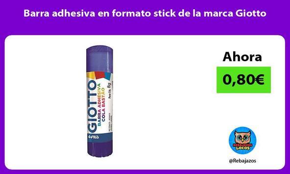 Barra adhesiva en formato stick de la marca Giotto