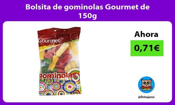 Bolsita de gominolas Gourmet de 150g