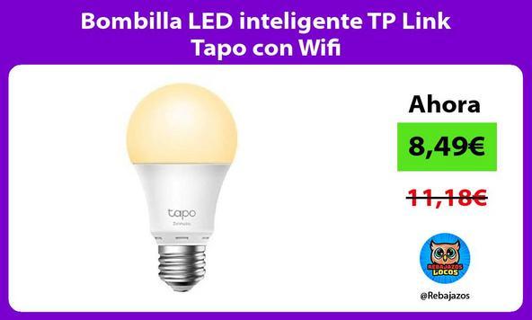 Bombilla LED inteligente TP Link Tapo con Wifi