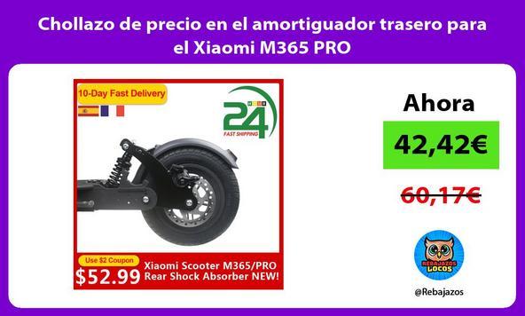 Chollazo de precio en el amortiguador trasero para el Xiaomi M365 PRO